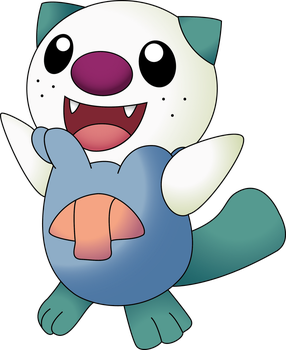 Shiny Oshawott by NIGHTSandTAILSFAN