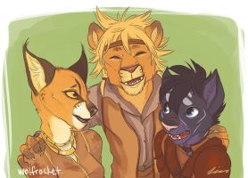 Everybody Wants to Be a Cat by WolfRocket