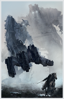 Shadow of the Colossus Colossus by geduliss