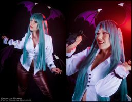 Morrigan - Marvel vs Capcom 3 by Neferet-Cosplay