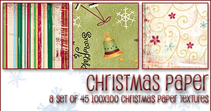Christmas Paper Textures by princesspeach0221