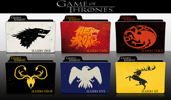 Game of Thrones Complete Series Folder Pack by SmokeU