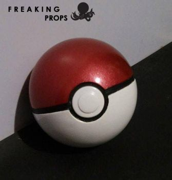 PokeBall Full Scale Replica by Luigi-LuisCarlosZarc