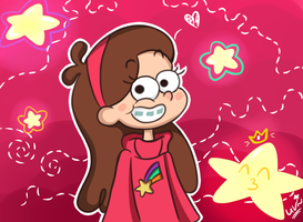 Mabel Pines. by CherryVioletS