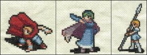 Fire Emblem Cross Stitch by ladygekko