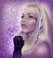 Purple - Glamour Retouch by marphilhearts