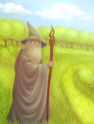 Gandalf -  The Lord of the Rings by Christus-Imperat
