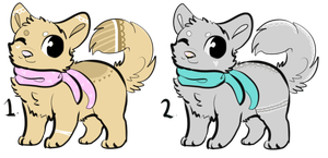 Canine Adoptables {Closed} by YellsRawr13