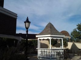The Lamp And Gazebo by ThisIsMe13