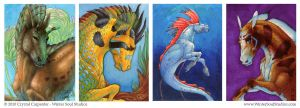 The Hippocamp Part 1- ACEO by soulofwinter