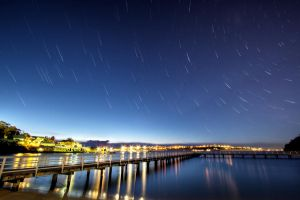 Under a Rotating Sky by MarkLucey