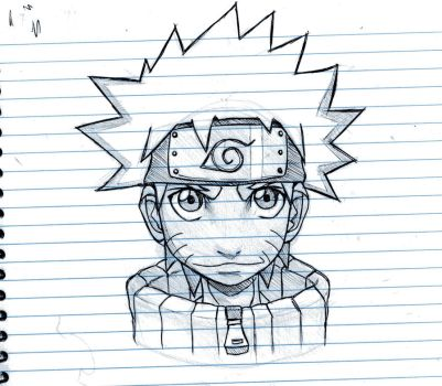 Notepad Naruto by BourneLach