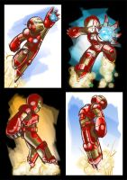 Iron Man Quick Paints by FischHead