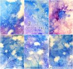 Bluebird - WATERCOLOR STOCK  PACK by AuroraWienhold