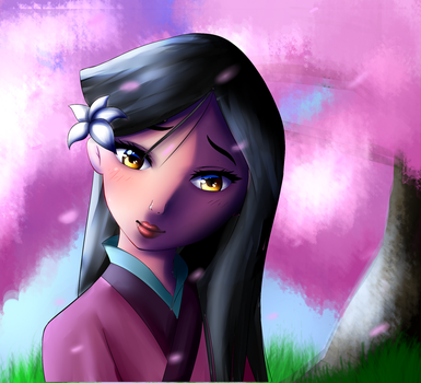Mulan (redraw) by Daisy6754