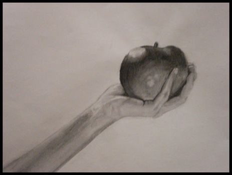 Arm and Hand Study by Veronica-Dominique