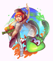 splatoon by raivaara
