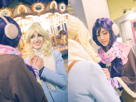 Cold hands - Love Live Cosplay by blanelle29