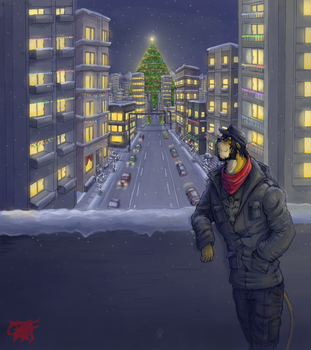 Snow City by BloodThirstyfang