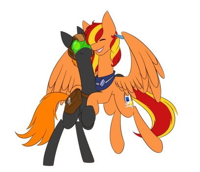 Buddy Rock Raider by TechTalkPony