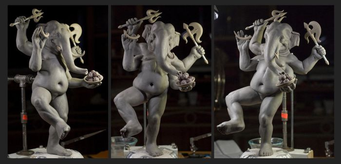 One More Ganesha WIP by rgyoung