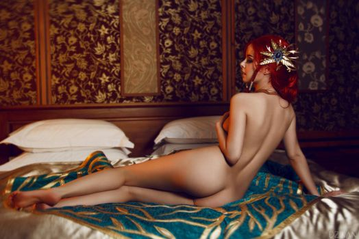The Witcher 3| Triss Merigold cosplay by Dzikan