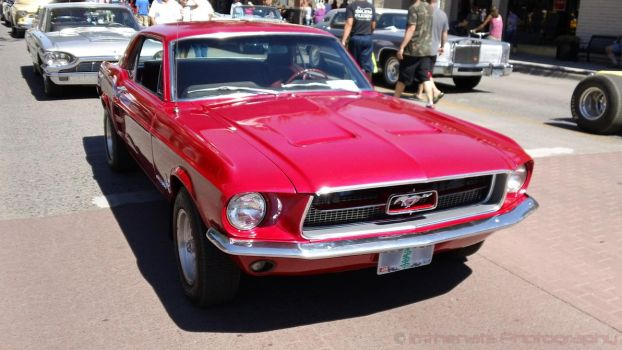 1967 Ford Mustang Iridescent Paint by Imthenats
