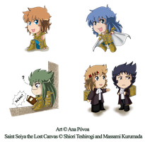 Mini Chibis SSLC - Collection by Oceanmermaid