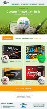 TeamWorld Golf Balls E-Blast by Garconis