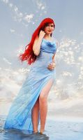 Mermaid Ariel is on rise by Usagi-Tsukino-krv