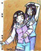 Happy -Hinata and Hanabi- by Shel-chan