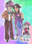 Valentine Shipping - LuluXVena: Family Outing by Halowing
