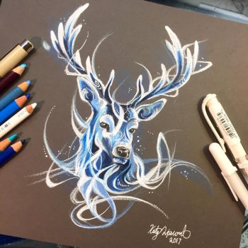 Stag Patronus by Lucky978