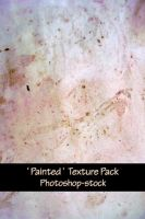 Painted Textures Pack by photoshop-stock