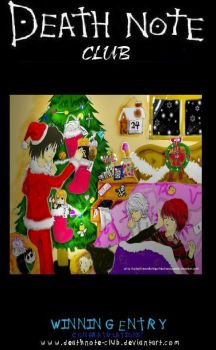 DN HOLIDAYS CONTEST WINNER by deathNote-club