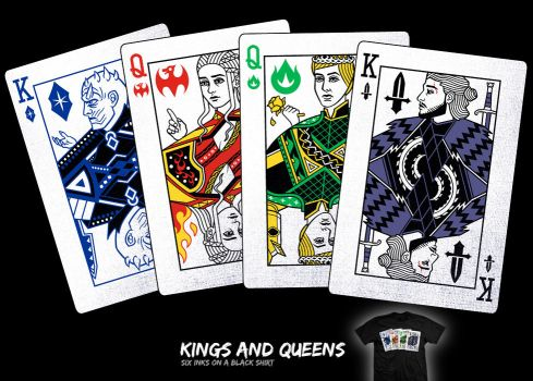 Kings and Queens - tee by InfinityWave