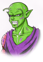 DBM fanfic : Piccolo by Fayeuh