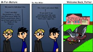 Welcome Back, Potter by MFM-comics