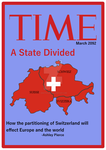 Swiss Partition TIME Magazine, 2092 CE by Dinotrakker
