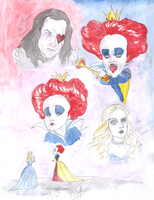 The Queens of UNDERLAND by DemonCartoonist