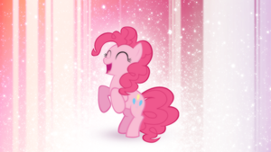Wallpaper - Fun with Pinkie Pie by romus91