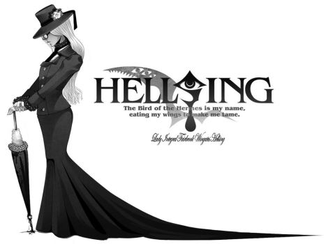 Lady Integral Hellsing by leEGOIST