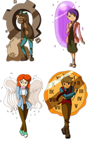 Professor Layton: First Three Games by CoolFireBird