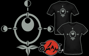 Okami Moon Tribe Symbol T Shirt by Enlightenup23