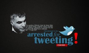 arrested for tweeting by FEB14BH
