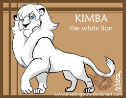 kimba coloring pages - photo#14