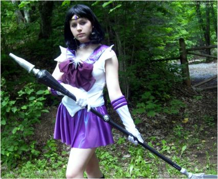 Destiny : Sailor saturn by Mikacosplay