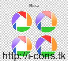 Picasa Icons by mmr85
