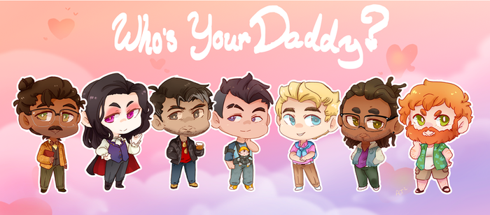 Who's Your Daddy by Artist-squared