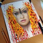Wild Pencil Drawing by AtomiccircuS